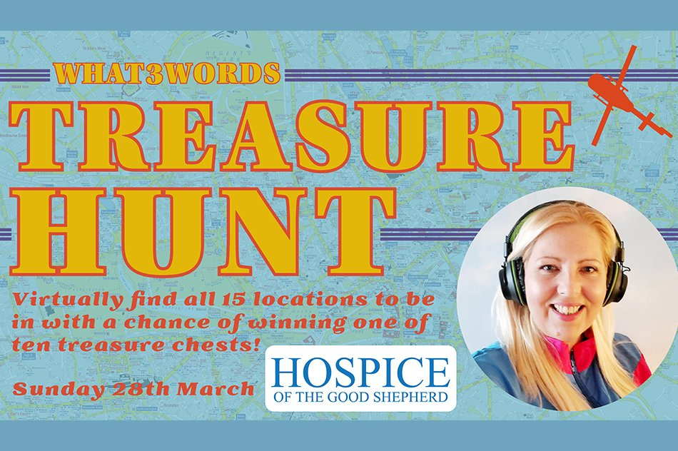 Word3Words Treasure Hunt